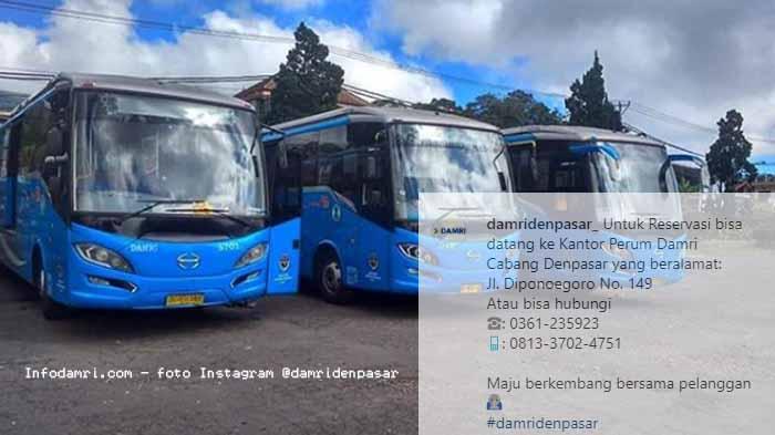 Harga Tiket Damri Denpasar Gilimanuk