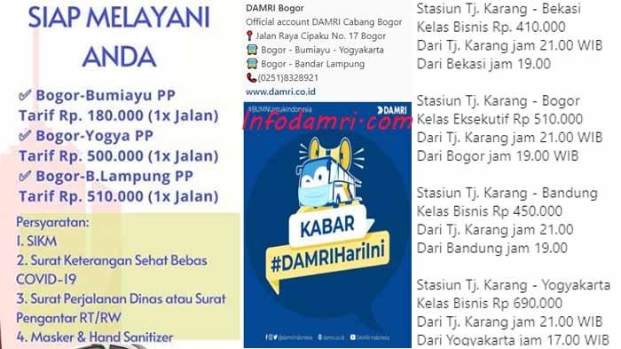 Damri Bogor Lampung