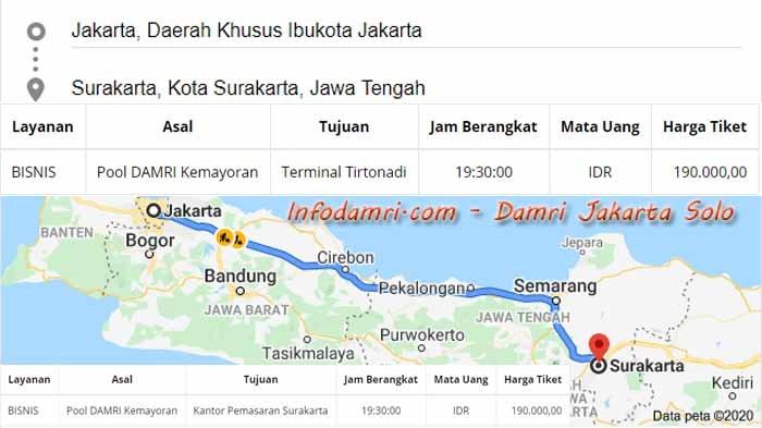 Damri Jakarta Solo
