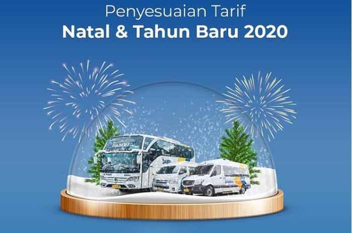 Harga Tiket Damri Natal dan Tahun Baru 2020 2021