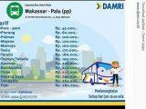 Bus Makassar Palu Naik Damri
