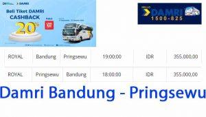 Damri Bandung Pringsewu