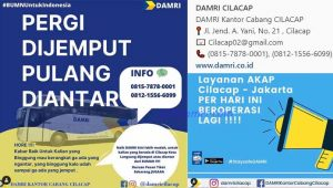 Damri Cilacap Jakarta