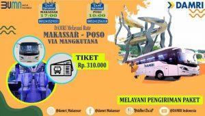 Damri Makassar Poso