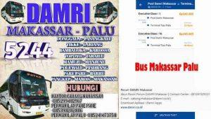 Harga Tiket Damri Makassar Palu