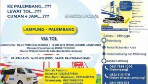 Harga tiket dan jadwal Damri Palembang Lampung