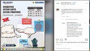 Jadwal Bus Damri Jember Denpasar