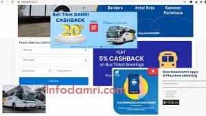 Pemesanan Tiket Damri Secara Online